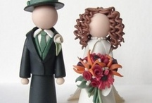wedding cake toppers / by Candyce Schoenborn