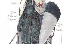 arms/armor 13th century