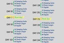 Workouts & inspo