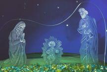 """Glass Christmas 2015 / Realizzazione per la mostra """"Glass Christmas"""" tenutasi presso la chiesa degli Scalzi  di Venezia dei Padri Carmelitani, organizzata da """"MuranoViva""""."""