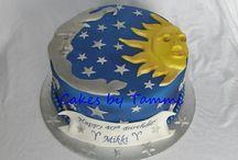Sun and Stars cake