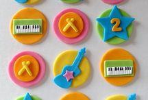 Baby musician Cake