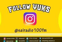 Follow Yuks @sairadio100fm