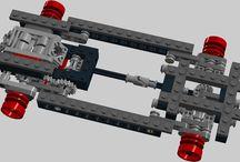 LEGO MOC  cars and ideas