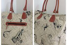Bolsas de tecidos / Bolsas