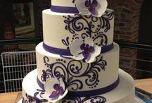 blå kake