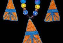 Jute jewellery / Jute jewellery items