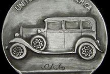 Car & Truck Themes: Hobo Nickels