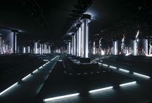 Fashion Week Venues / Fashion shows atmospheres and stage designs