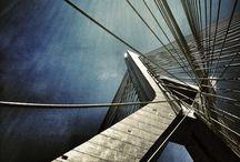 Ponte Estaiada - SP / Fotos da Ponte Octávio Frias de Oliveira, mas, conhecida por Ponte Estaiada.