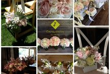 Blush Flowers by Dragonfly Floral