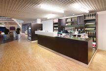 Espressobar SVB Amstelveen / ontwerp en realisatie espressobar.
