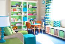 Kids Room at Yaya's / by Chrystal Urdiales