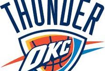 Oklahoma City Thunder / by Steve Van Dusen