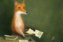 Fox in Art 6