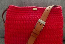 Zwariowane_szydełko <3 / handmade wyroby ze sznurka bawełnianego wyroby z t-shirt yarn szydełkowanie