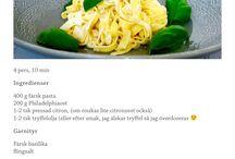 Recept *pasta