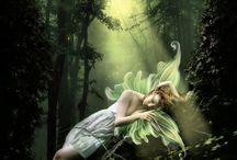 Fairies or nature spirits