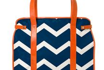party // navy & orange / by Lindsey Cheney
