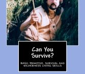 SURVIVE / CAN YOU SURVIVE? is now available in paperback. This book is full of photographs and original illustrations to instruct anyone on how to survive with no modern gear. Everything from firemaking without matches to shelter building, hide tanning, survival hunting weapons, traps and snares and much much more. ORDER YOUR COPY TO DAY! http://wayoftheraven.net/order-can-you-survive/ and visit Raven's website at http://wayoftheraven.net.