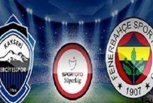 Futbol / Futbol glatasaray fenerbahçe ve beşiktaş dahil lig kupa ve avrupa maçlarında haberler yorumlar