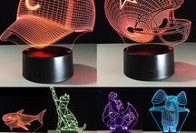 3D Colorful Night Light