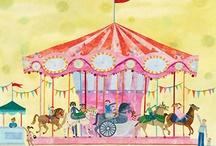 horse carousels / by Jen Jen
