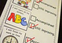 School-Kindergarten Goals