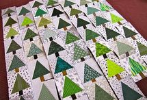 Green & White Quilts