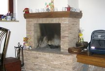 brick fireplaces / brick fireplace