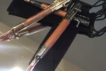 Hand turned pens / Product of Woodworks by Alan