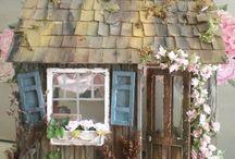 maket evler dollhouse