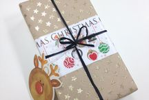 Gift Wrap / Ideas and wrapping techniques to make your gifts stand out from the crowd