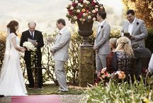 Fall palette by Weddings International / A warm palette for a fall wedding in the Tuscan hills - Villa Angelica.