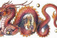 dragonii fiorosi