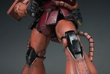 Mecha porn / From scale models to fictional mech #kissmyshinymetalass