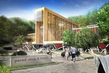 Parad Clinic and Hotel designed by 4D Architects