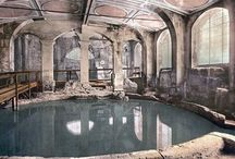 Roman Baths / Romans paid careful attention to cleanliness, but they also used the baths to conduct business and catch up on gossip which made Healer of Carthage such a juicy read.