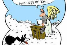 75. Religieuse humor / Overal vandaan