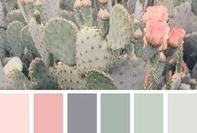 Green color palettes