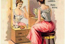 Intimate Apparel + Hygiene + Grooming / Tips on bras, underwear and other lingerie fitting and guides, facial and body hair removal, teeth whitening, oral hygiene,  healing cracked heels, assorted DIY home remedies, hair brushing ideas and cleaning, menopause, peri-menopause, home manicures and pedicures,  monthly self-breast exams, showering and bathing, etc. / by h e a t h e r
