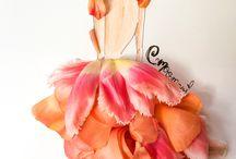 Flower dress art
