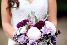 Plum and Blush Wedding