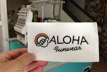 Behind the Scenes / Making the magic behind AlohaFunWear.com!
