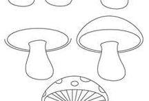 Tangle paddenstoel