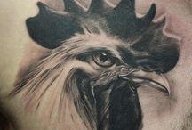 Hühner Tattoos