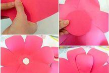 papirove kvetiny
