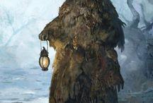 Druid/monk