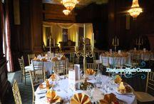 Gold wedding themes