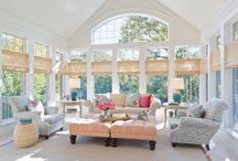 Sunrooms / A sunny place to spend my time reading, painting and thinking